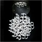 Metal Lux Astro 6 Light White Glass Pendant 206.175.02