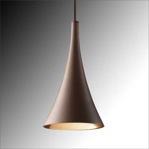 Grok Sixties Dark Brown Designer Single Pendant 00-5938-CI-CI