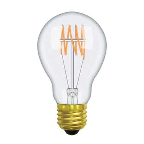 GLS/W E27 2000K Extra Warm White 40W (100/10) Clear Dimmable