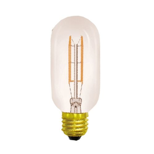 Tubular/H E27 2000K Extra Warm White 40W (100/10) Tinted Dimmable