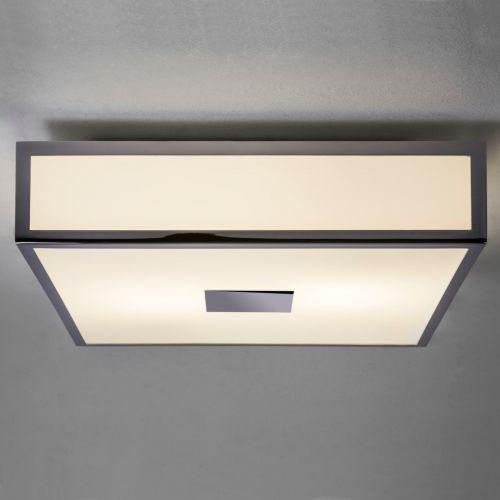 Astro Mashiko Classic 300 Square Bathroom Ceiling Light in Polished Chrome 1121005
