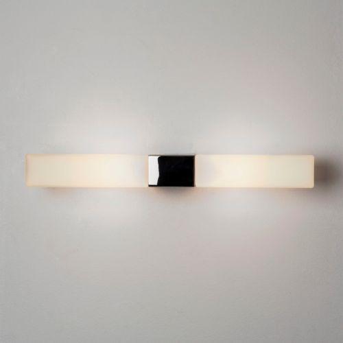 Astro Padova Square Bathroom Wall Light in Polished Chrome 1143004