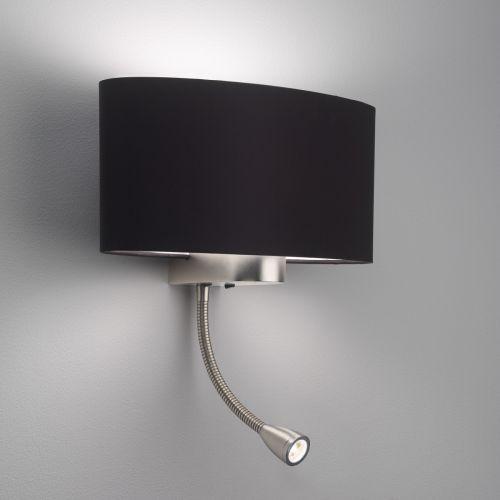 Astro Napoli LED Indoor Reading Light in Matt Nickel 1185002