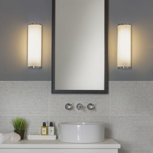 Astro Monza Classic 250 Bathroom Wall Light in Polished Chrome 1194003