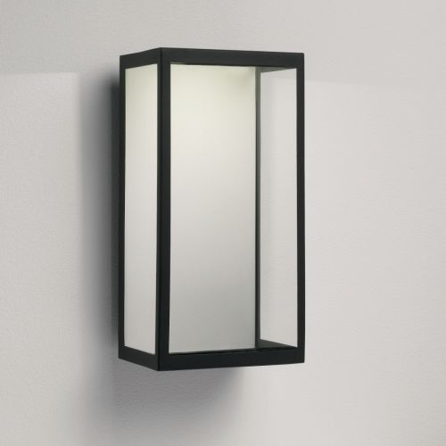 Astro Puzzle LED Outdoor Wall Light in Textured Black 1199001