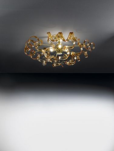 Metal Lux Astro 3 Light Flush Ceiling Fitting 205.340.06