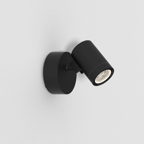 Astro 1401005 Bayville LED Single Outdoor Spotlight Black