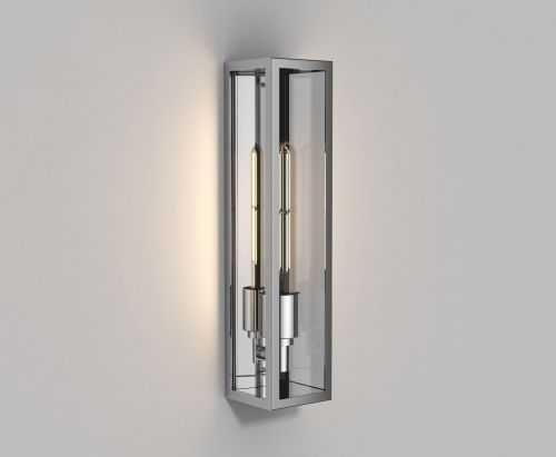 Astro Harvard Wall Outdoor Wall Light in Polished Stainless Steel 1402002