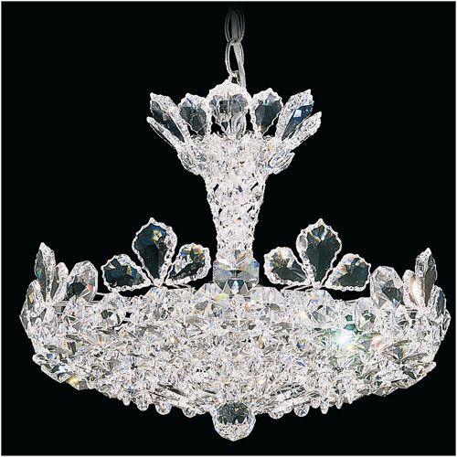 Schonbek 5853 Trilliane 6Lt Swarovski Ceiling Pendant Crystals by Swarovski