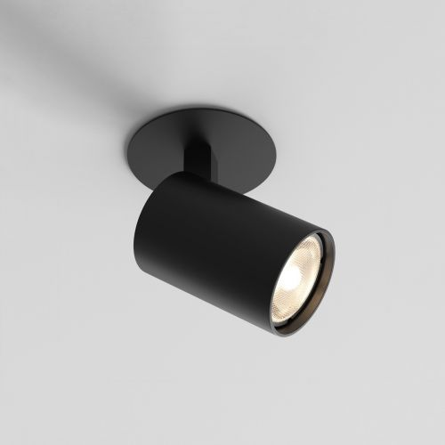 Astro Ascoli Recessed Indoor Spotlight in Matt Black 1286080