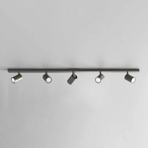 Astro 1286085 Ascoli 5 Light Bar Spotlight Matt Black Frame