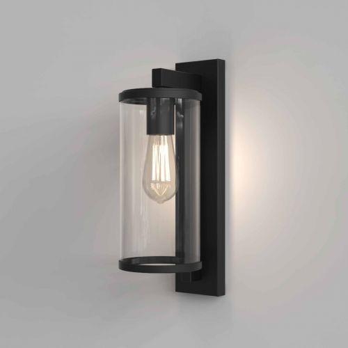 Astro 1413001 Pimlico 400 Outdoor Single Wall Light Textured Black Frame