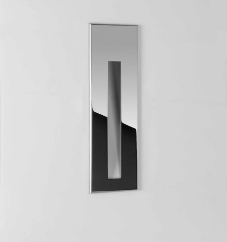 Astro 1212043 Borgo 55 LED Recessed Wall Light Polished Stainless Steel Frame