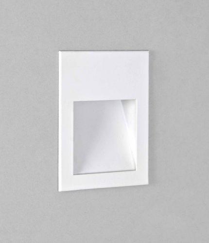 Astro 1212048 Borgo 90 LED Recessed Wall Light Matt White Frame