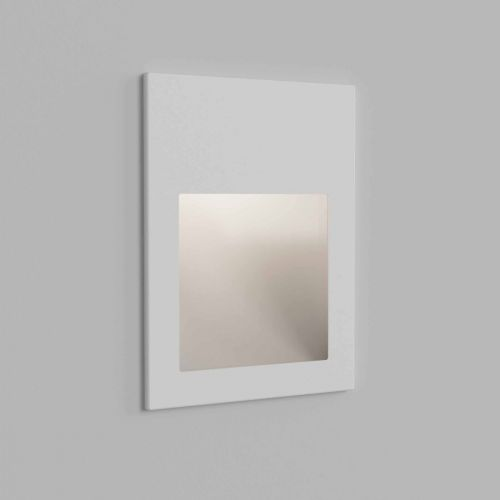 Astro 1212052 Borgo 90 LED Recessed Wall Light Textured White Frame