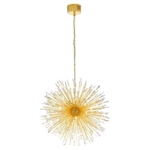 Eglo Ceiling Light G4 Pendant Gold-Plated/Crystal Vivaldo 1 39256