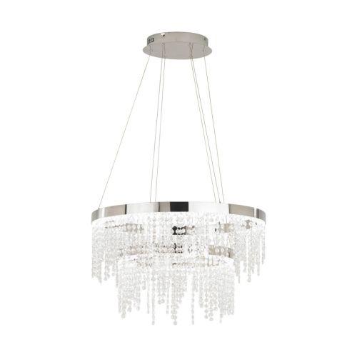 Eglo Ceiling Light LED Crystal Pendant Antelao 39281