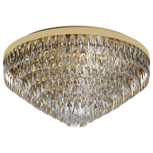 Eglo Ceiling Light 16 Light Gold-Optic/Crystals Valparaiso 39459