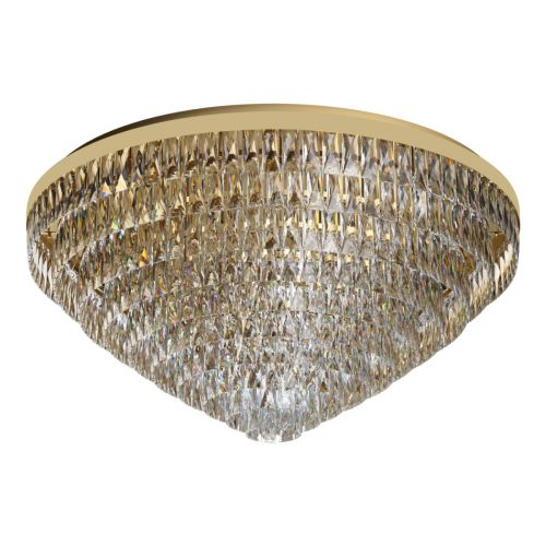 Eglo Ceiling Light 25 Light Gold-Optic/Crystals Valparaiso 39461