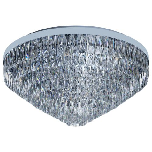 Eglo Ceiling Light 16 Light E14 Chrome/Crystals Valparaiso 1 39492
