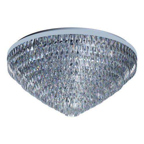 Eglo Ceiling Light 25 Light E14 Chrome/Crystals Valparaiso 1 39493
