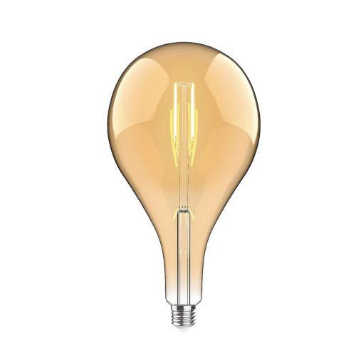 E27 LED Bulb Type C 2100K Extra Warm White 4W Amber Finish Dimmable