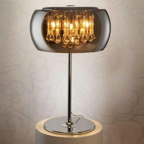 Schuller Argos 508222UK Table Lamp 4 Light Chrome