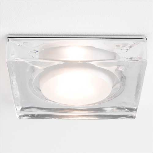Astro Vancouver Polished Chrome Square Bathroom Downlight 5519