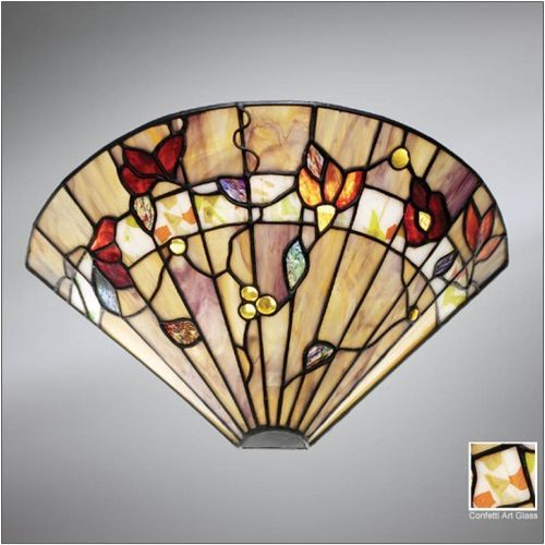 Interiors 1900 Bernwood Tiffany Wall Light 63952