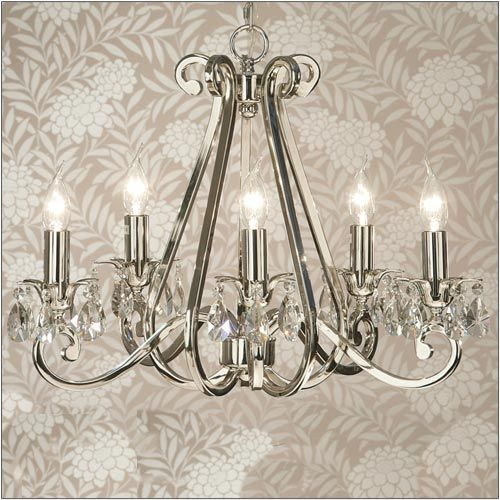 Interiors 1900 Oksana 5-Light Chandelier UL1P5N