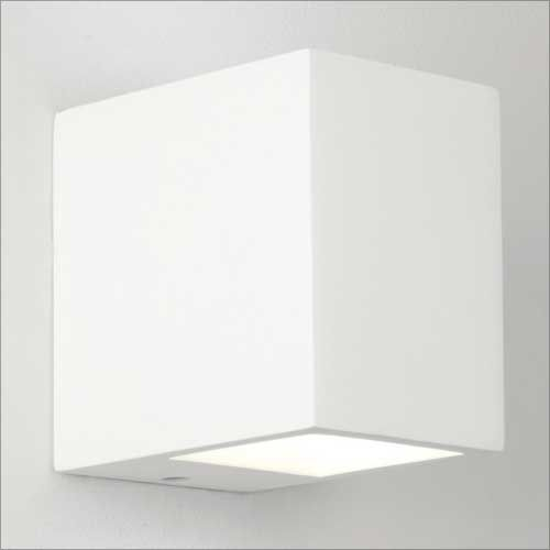 Astro Mosto White Ceramic Wall Washer 0813