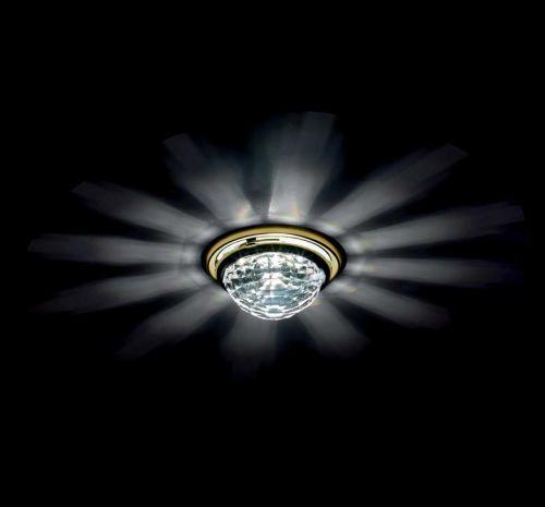 Swarovski A8992NR030010CRY Vega Swarovski Crystal Spotlight Gold Plated Frame