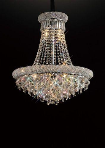 Diyas  Alexandra 13 Light Pendant  Polished Chrome/Crystal IL31451
