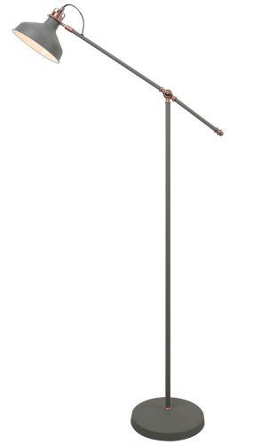 Floor Lamp Sand Grey Copper White Lekki Blake LEK3040