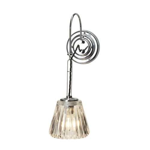 Elstead Demelza Wall Light Polished Chrome ELS/BATH/DEMELZA PC
