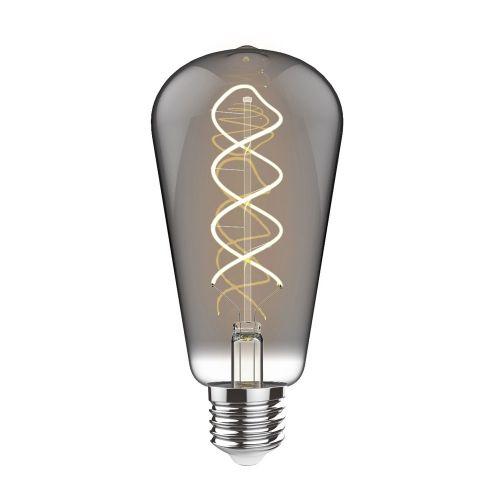 E27 LED Bulb 2100K Extra Warm White 4W Smoke Finish Dimmable