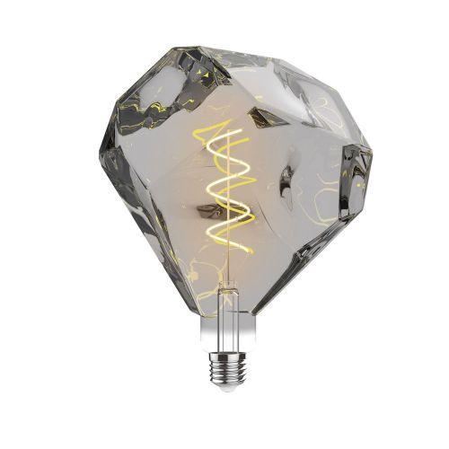 E27 LED Bulb Type E 2100K Extra Warm White 4W Smoke Finish Dimmable
