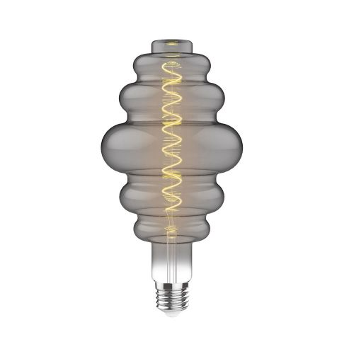 E27 LED Bulb Type B 2100K Extra Warm White 4W Smoke Finish Dimmable