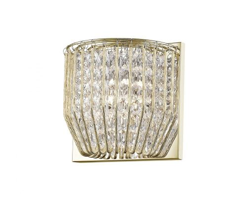 Impex Carlo CFH508052/01/WB/G 1 Light Wall Light Gold Fitting