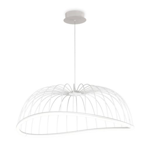 Mantra M6680 Celeste Large Ceiling LED White Pendant