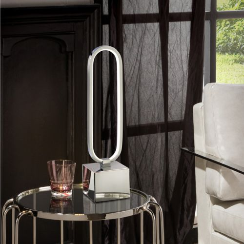 Schuller Colette 787260 LED Table Lamp Chrome Frame