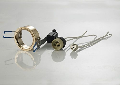 Diyas IL30800FG Downlight Component Kit Lampholders Retaining Ring French Gold