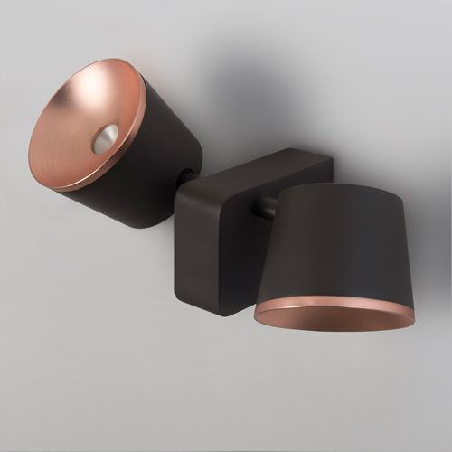 LEDS C4 Drone LED Brown Bronze Spotlight 05-5307-CI-06