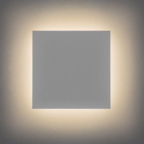 Astro Eclipse Square 300 LED 2700K Indoor Wall Light in Plaster 1333004