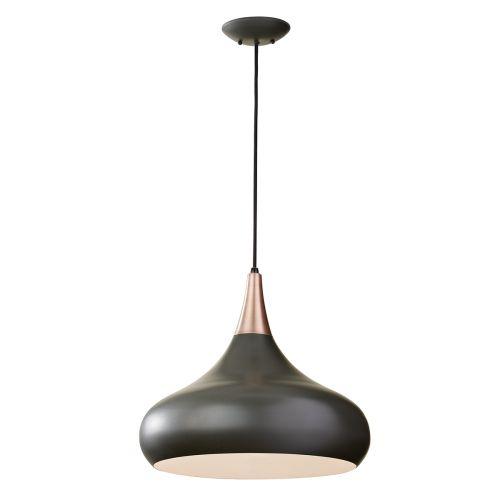 Feiss FE/BESO/P/L DBZ Beso 1Lt Dark Bronze Large Ceiling Pendant