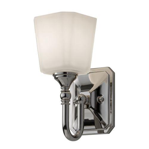Feiss Concord 1 Light Wall Light FE/CONCORD1 BATH Polished Chrome