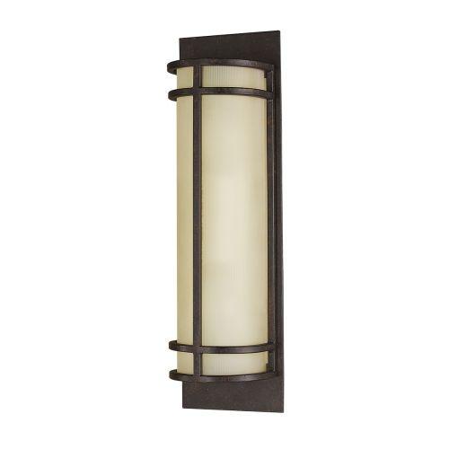 Feiss Fusion 2Lt Wall Light Grecian Bronze FE/FUSION2
