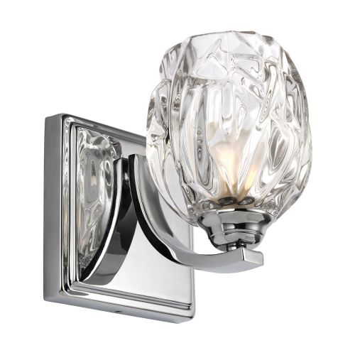 Feiss Kalli 1lt Bathroom Wall Light Polished Chrome ELS/FE/KALLI1 BATH