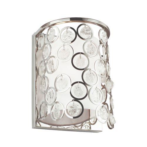 Feiss Lexi 1Lt Wall Light Polished Nickel FE/LEXI1