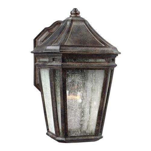 Feiss FE/LONDONTOWNE Londontowne 1Lt Weathered Chestnut Outdoor Wall Lantern